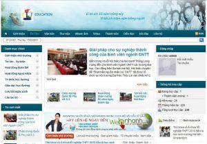 kênh thông tin liên lạc nhà trường với học viên