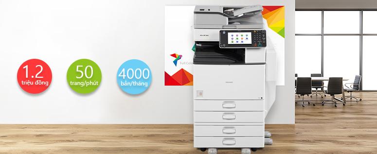 Những dòng máy photocopy cho trường học