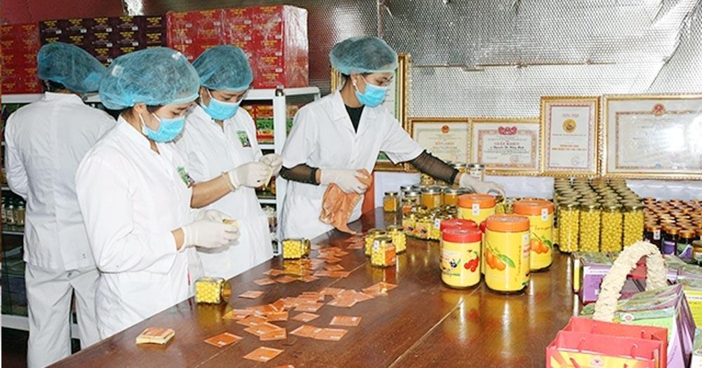 sản xuấtở nông thôn Mở xưởng chế biến nông sản, dược liệu