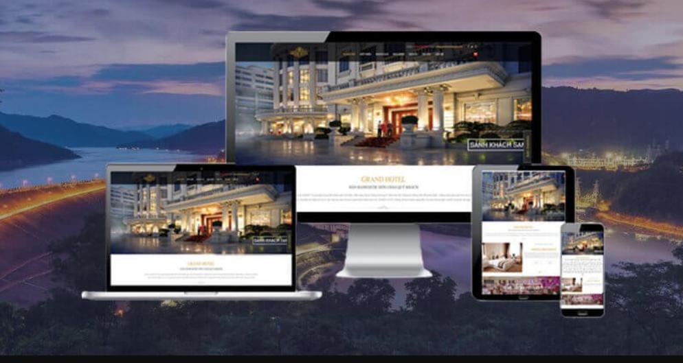 Thiết kế website khách sạn - resort chuẩn SEO
